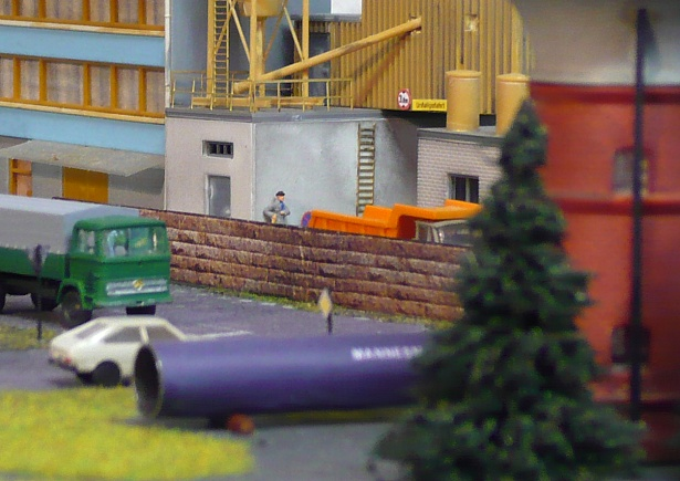 Model train scenery N scale
